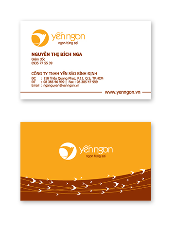 Yen Ngon name card